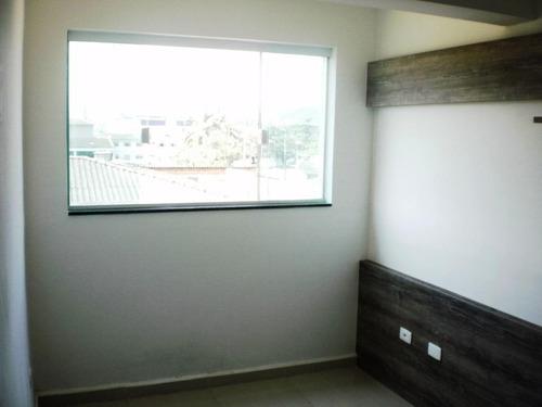 Apartamento Em Parque São Vicente, São Vicente/sp De 56m² 2 Quartos À Venda Por R$ 230.000,00 - Ap765656