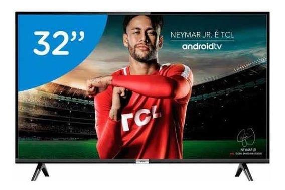 Smart Tv Tcl 32 Polegadas Hd Android Comando De Voz