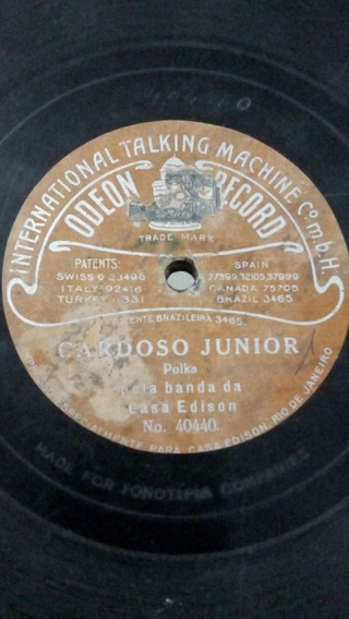 Lp De 78 Rpm Casa Edson Odeon