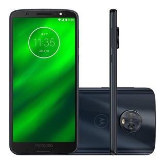 Smartphone Moto G6 Plus 64gb 4 Gb Ram Vitrine Excelente