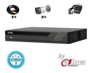 Kit Saxxon Pro Sax4104xhkit 4ch Pentahib 720p 1ch Ip 4 Camar