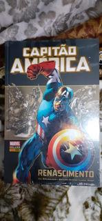 Hq Capitão América: Renascimento - Novo E Lacrado