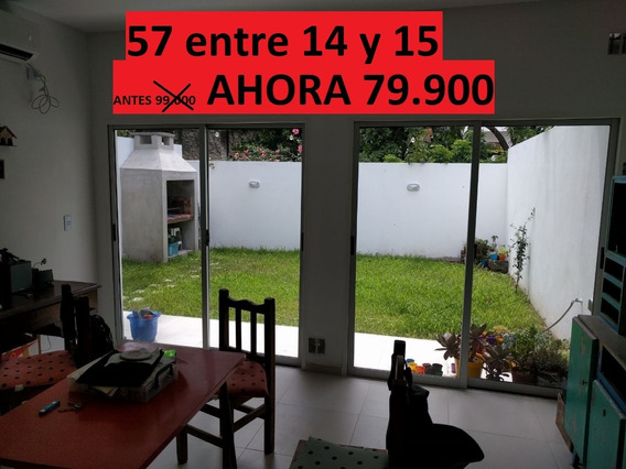 Ph 57 E/14y15 Venta 1 Dorm Verde Patio Parrilla Sin Expensas