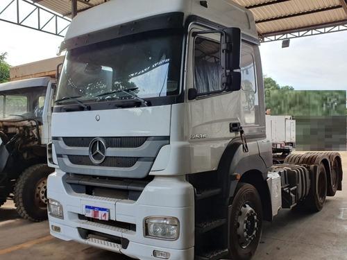 Mercedes-benz Axor 2536 6x2 Ano 2016 Teto Alto Trucado