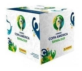 Caja Láminas Panini Copa América Brasil 2.019 50 Sobres
