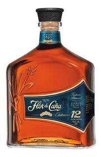 Flor De Caña 12 Años (botella) 100 % Original