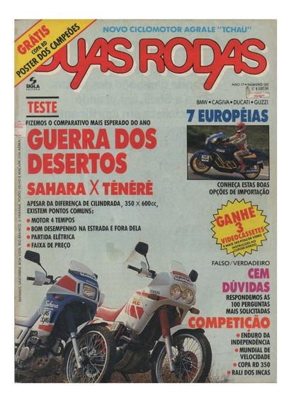 Duas Rodas N°182 Honda Sahara Yamahaténéré Agrale Tchau Bmw