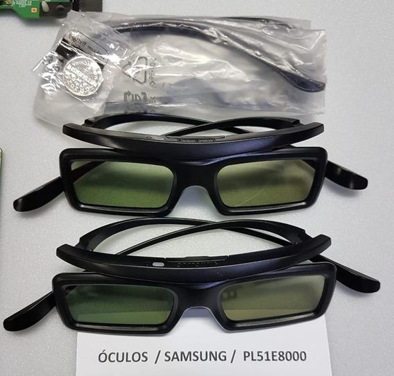 Kit 3 Óculos 3d Ativo Samsung Pl51e8000