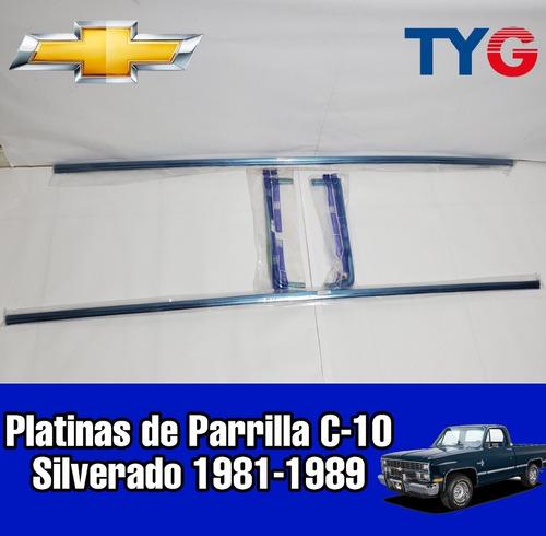 Platina De Parrilla Silverado C10 81 82 83 84 85..89 (juego)