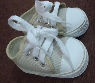 Calzado Bebe No Caminante Zapatilla Talle 15 9,5cm Corderoy