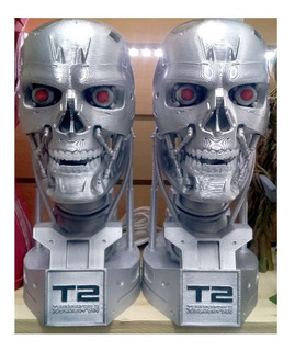 Terminator Busto Muñeco Lampara Coleccion - Fair Play Toys
