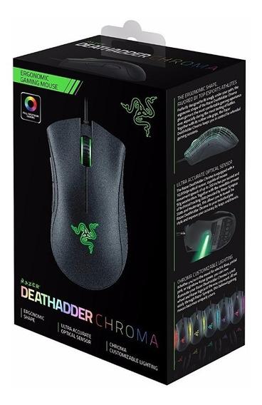 Mouse Razer Deathadder Chroma 10000dpi Synapse 2.0 O Melhor