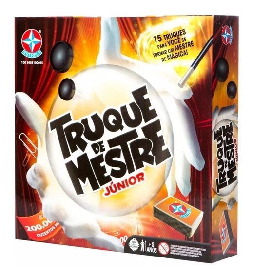 Kit De Mágica Jogo Truque De Mestre Jr Estrela Novo Original