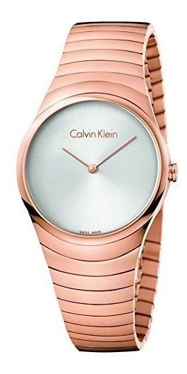 Reloj Clavin Klein K8a23646 Oro Rosado Dama Original Oferta!