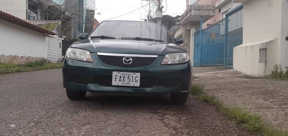 Mazda Allegro Motor 1.6 T/a Año 2002 Color Verde 5 Puertas