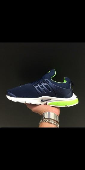 Tênis Presto Azul/verde
