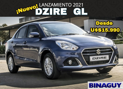 Suzuki Dzire Gl 2021 / Nuevo Modelo! / Reserve Su Unidad!