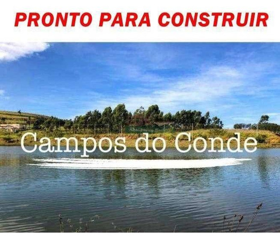 Terreno À Venda, 600 M² Por R$ 220.000,00 - Campos Do Conde - Taubaté/sp - Te0100