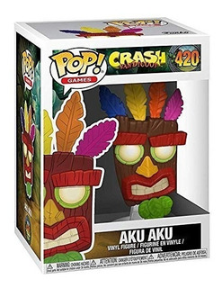 Funko Pop Crash Bandicoot Aku Aku