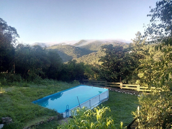 Casa Con Pileta En Cerro Azul Sierras De Córdoba