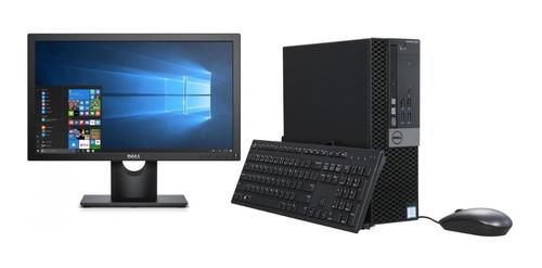 Imagem 1 de 10 de Cpu Monitor Dell Optiplex 3040 Core I3 6ger 4gb 500gb - Novo
