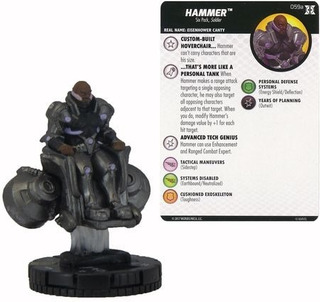 Heroclix - Hammer #059a - Deadpool And X-force - Marvel