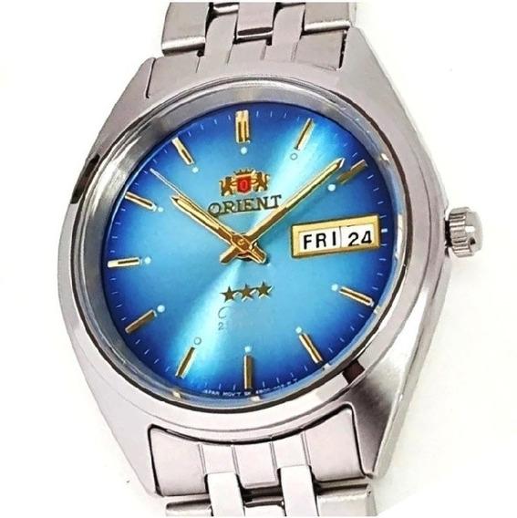 Relógio Orient Automático Model Médio Tradicional Fab0000al9