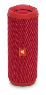 Parlante Jbl Flip 4 Portable Resistencia Ipx7 Connect+ Rojo