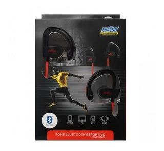 Fone De Ouvido Esportivo Bluetooth Fone-bt009 Feasso
