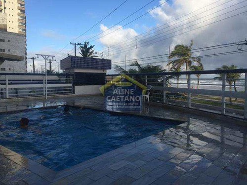Apto - 2 Dorms, Caiçara, Praia Grande - R$ 290 Mil - Vact425