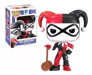 Funko Pop Harley Quinn 45 Dc Comics Original Scarlet Kids