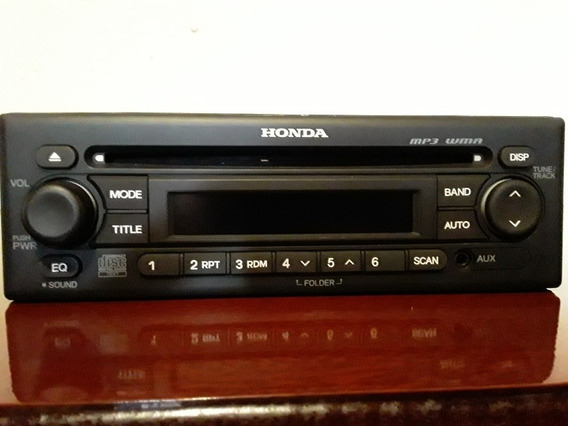 Rádio Original Linha Honda( Funciona Em Qualquer Montadora)