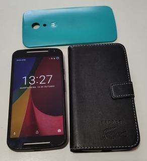 Motorola Moto G2 Dual Chip Dtv Colors 16gb Xt1069 Usado Em