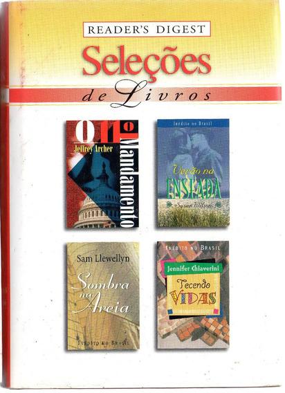 Lote 56 - Livro Seleções Readers Digest (4 Títulos Cada)