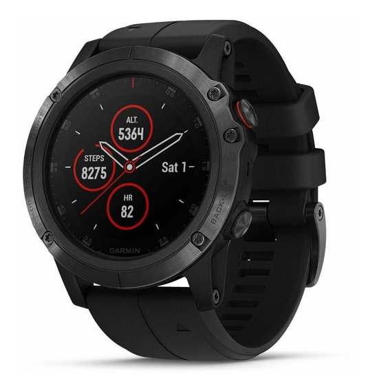 Relógio Smartwatch Garmin Fenix 5x Safira Pronta Entrega !!!