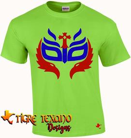 Playera Lucha Libre Rey Misterio Jr. By Tigre Texano Designs