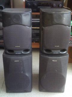 Bafles Altavoces Para Sonido Envolvente Aiwa Sony