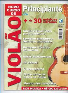 Violão Novo Curso Principiantes Revista Com Cifras