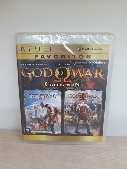 God Of War Collection Ps3 Remasterizado Hd Novo Lacrado