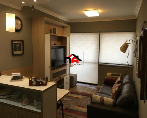 Imagem 1 de 14 de Brooklin, 1 Dormitório Mobiliado + Internet - Ap01414 - 33443203