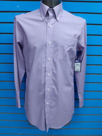 Camisa De Vestir Ralph Lauren Slimfit 15 32/33 Nuev Original