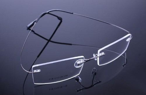 28e57591c Armação Oculos Grau Beta Titanium Flexivel Preta C/ Memoria - R$ 79,90 em  Mercado Livre