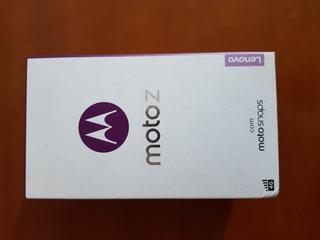 Caixa Celular Moto Z Com Manual