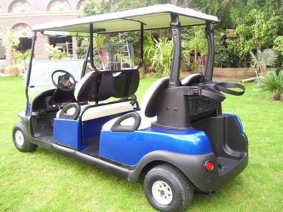 Carrito De Golf Para 4 Pasajeros Viendo Al Frente