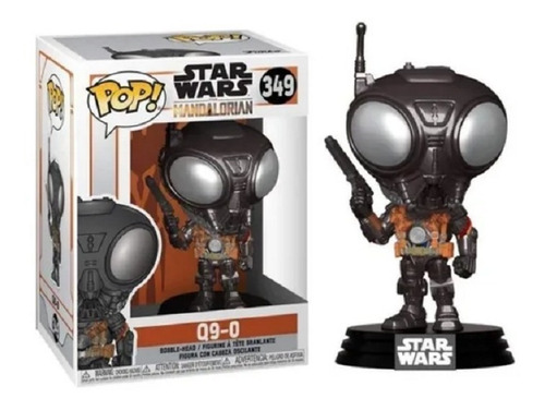 Funko Pop Star Wars The Mandalorian Q9-0 349 Original