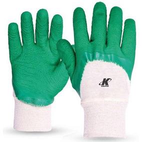 Luva Kalipso Confortex Plus, Tamanho M - Verde E Branco