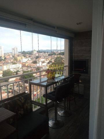Apartamento Com 3 Dormitórios À Venda, 115 M² Por R$ 795.000,00 - Vila Santo Antônio - Guarulhos/sp - Ap2413