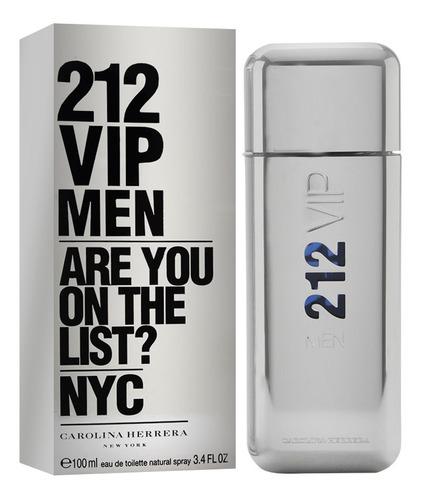 212 Vip Men 100ml Edt Silk Perfumes Original
