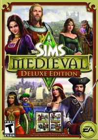 The Sims Medieval Deluxe Pc Completo Mídia Digital 2019