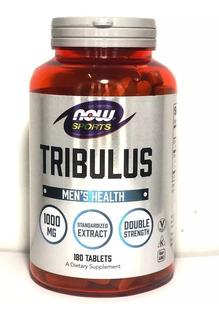 Tribulus Terrestris 1000mg 180 Cps Now Foods Saúde Sexual